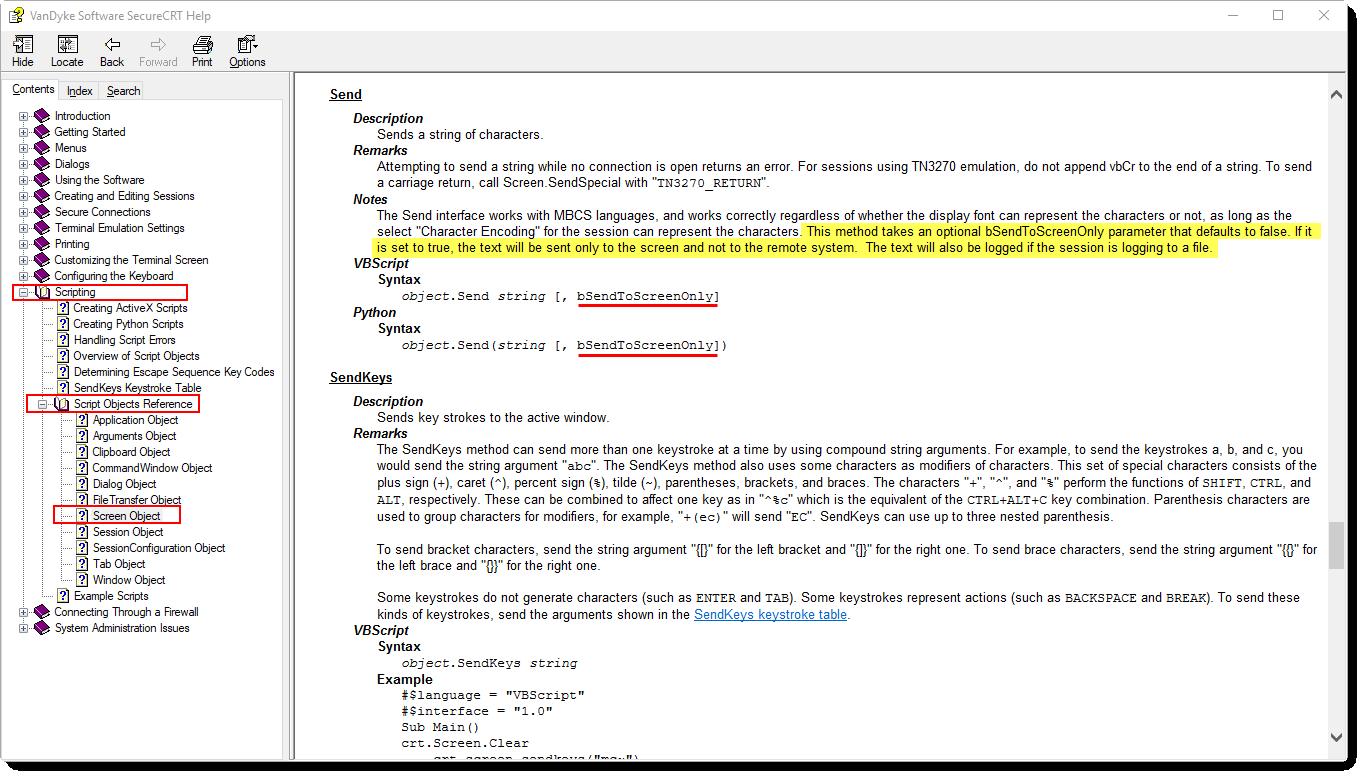 Procomm to SecureCRT - VanDyke Software Forums