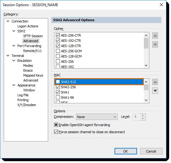 The server's host key failed to verify  - VanDyke Software